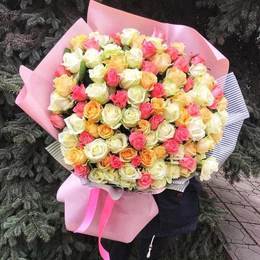 101 безумие: букеты цветов на заказ Flowwow