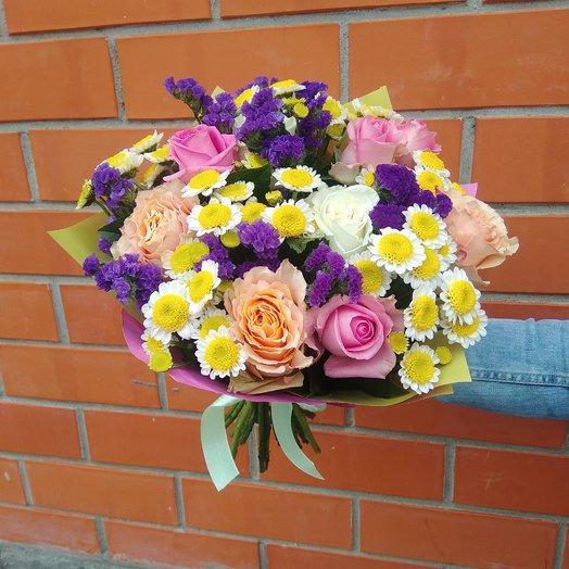 Яркое лето: букеты цветов на заказ Flowwow