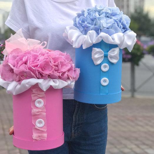 Шляпная коробка : букеты цветов на заказ Flowwow