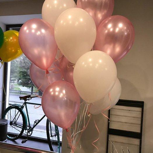 Латексные воздушные шары: букеты цветов на заказ Flowwow