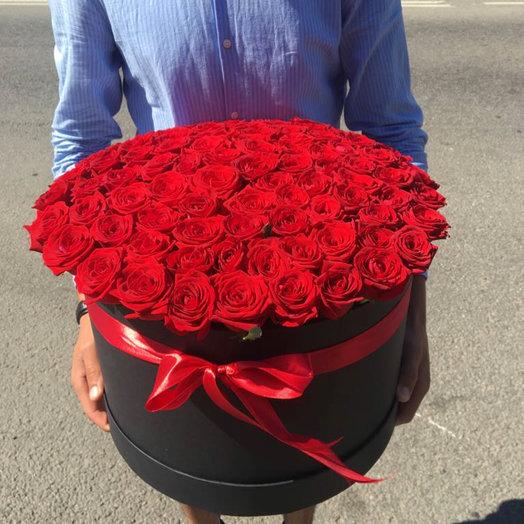101🌹 в огромной коробке🔥: букеты цветов на заказ Flowwow