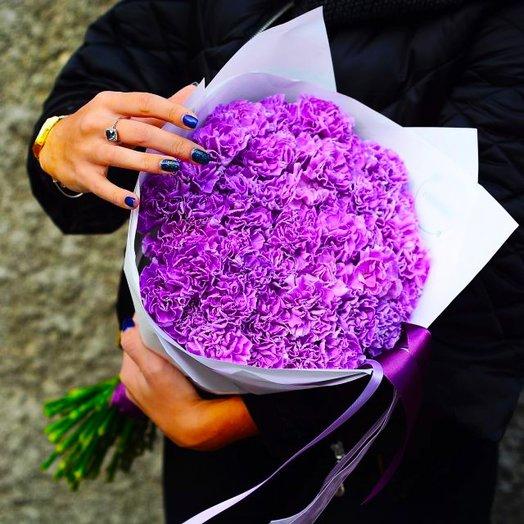 Букет Фиалка: букеты цветов на заказ Flowwow