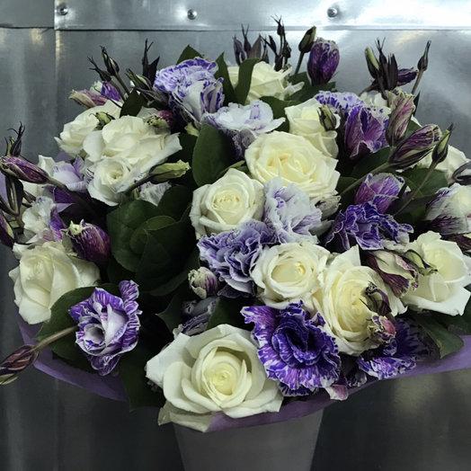 Чистая лазурь: букеты цветов на заказ Flowwow