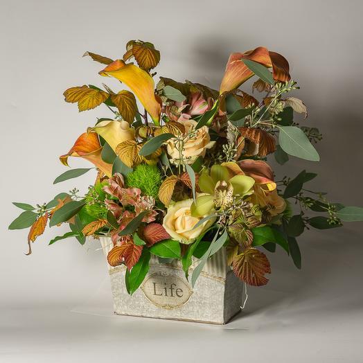 Листопад: букеты цветов на заказ Flowwow
