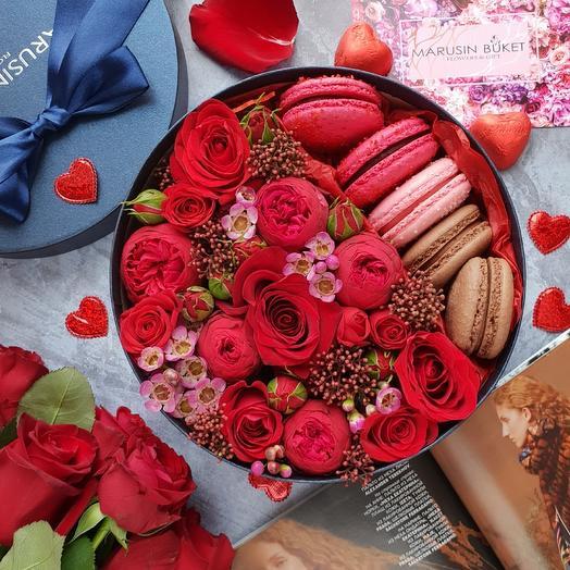Love Red: букеты цветов на заказ Flowwow