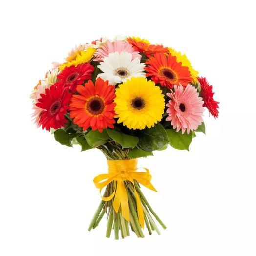 Гербера: букеты цветов на заказ Flowwow