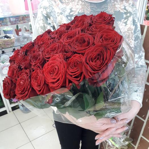 25 Ред Наоми: букеты цветов на заказ Flowwow