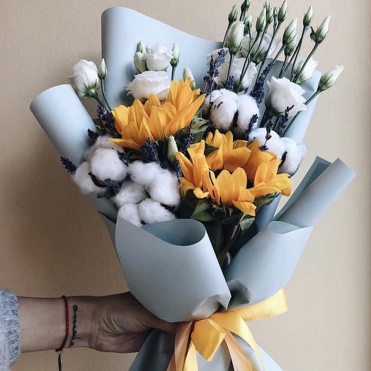 Яркая Нежность: букеты цветов на заказ Flowwow
