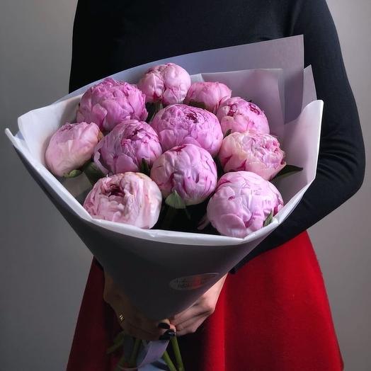 Букет из пионов сара бернар: букеты цветов на заказ Flowwow