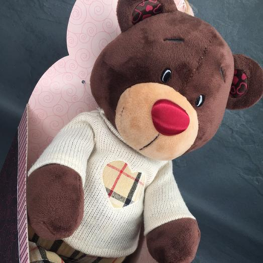"""Soft toy """"Bear in sweater"""""""