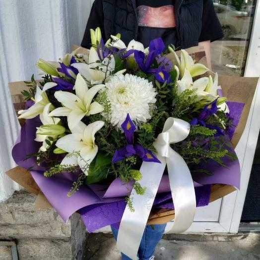 "Букет ,,Королева Марго"": букеты цветов на заказ Flowwow"