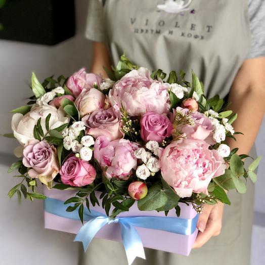 Композиция Мадрид: букеты цветов на заказ Flowwow