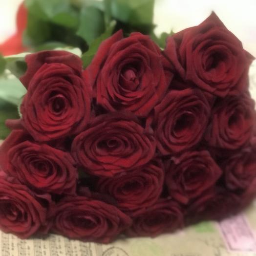 15 ароматных роз: букеты цветов на заказ Flowwow