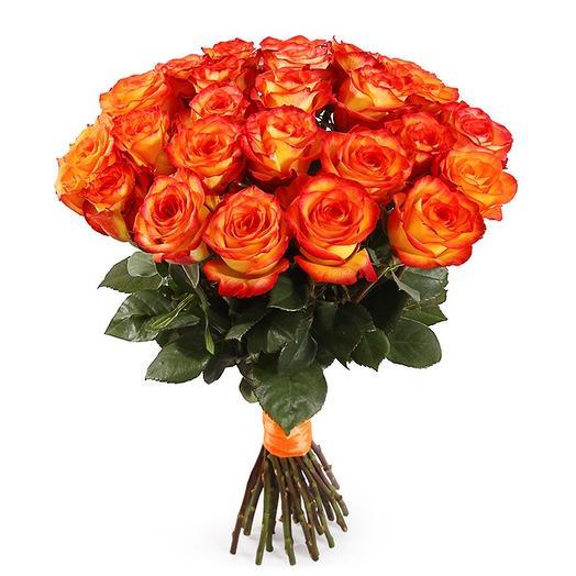 Любимому солнышку 25 солнечных роз: букеты цветов на заказ Flowwow