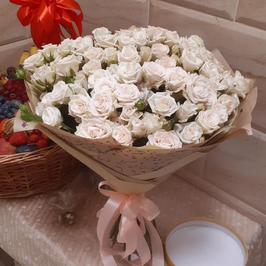 23 Кустовые розы: букеты цветов на заказ Flowwow