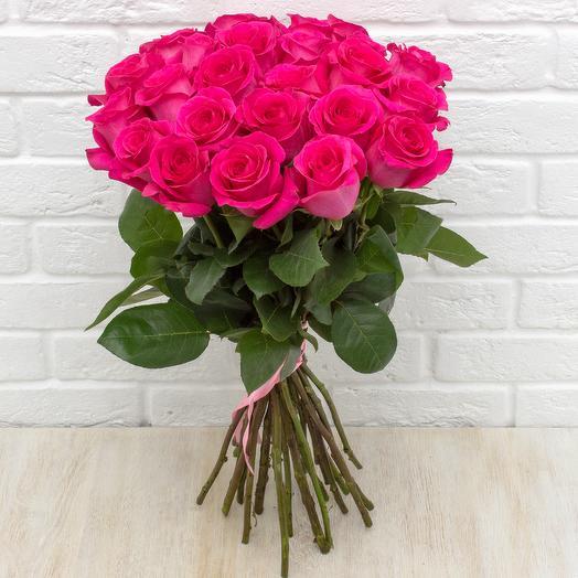Букет 25 роз Pink F oyd