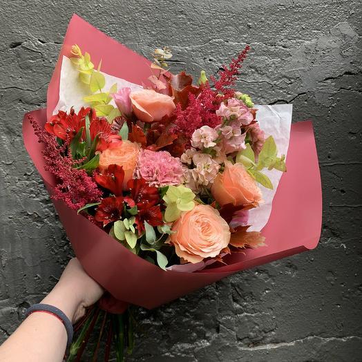 Яркие краски осени: букеты цветов на заказ Flowwow