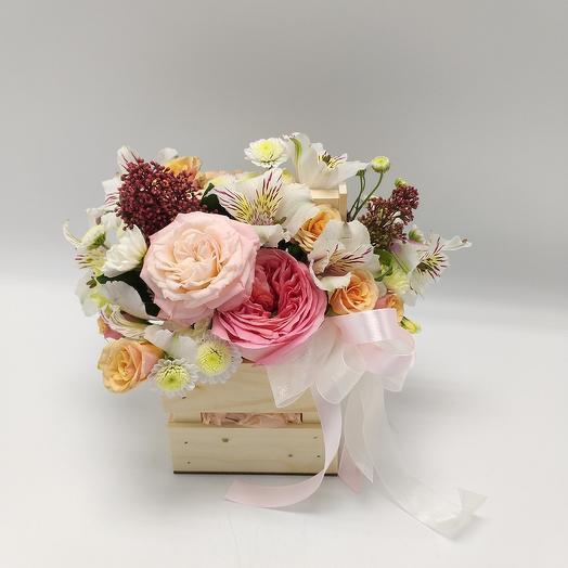 Цветочная композиция: букеты цветов на заказ Flowwow