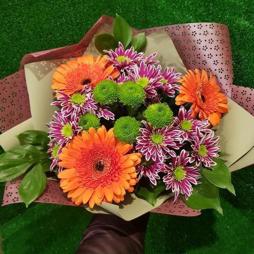 Букет  Хэппи: букеты цветов на заказ Flowwow
