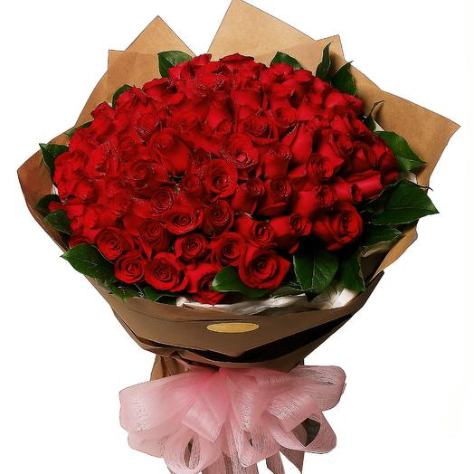 100 Roses Bouquets