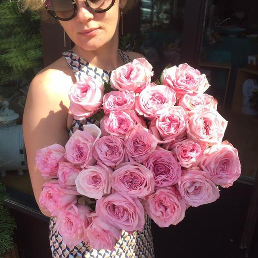 Bouquet of roses Pink Ohara (Pink O'hara)