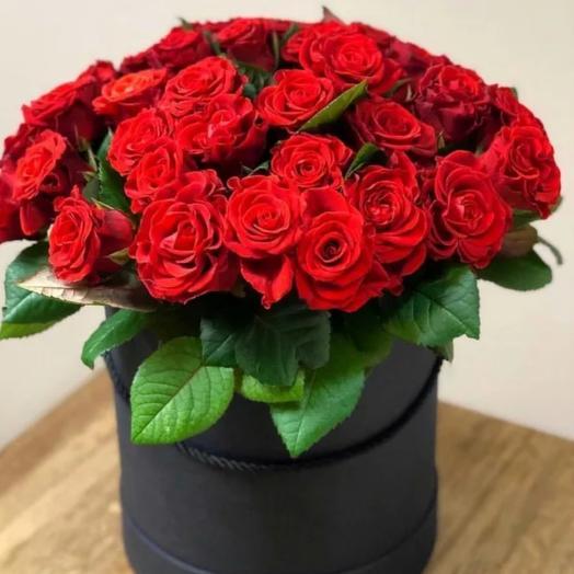 Коробка с розой эльторо