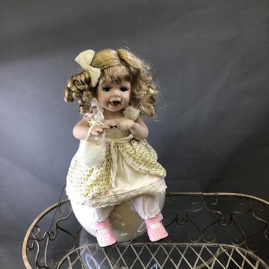 Кукла фарфор коллектив