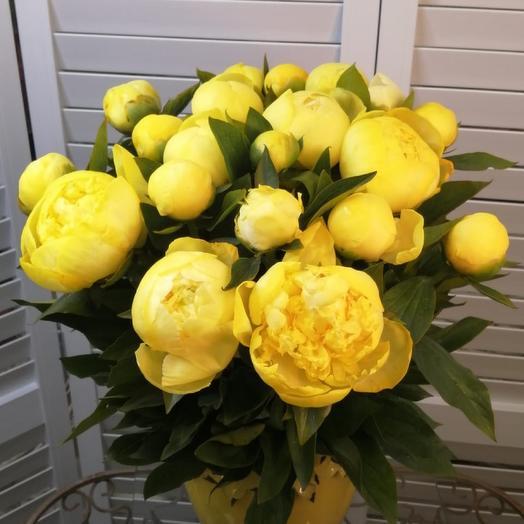 Букет из пионов премиум класса: букеты цветов на заказ Flowwow