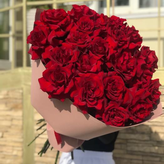 Букет ажурных роз