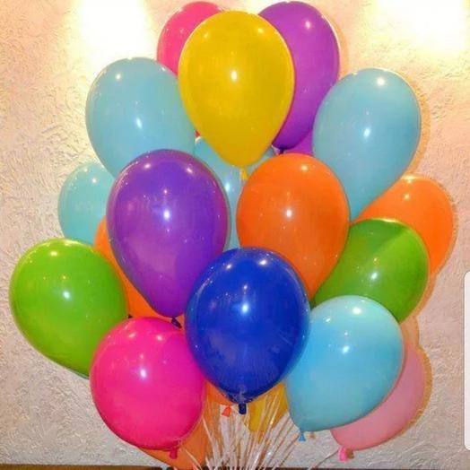 Разноцветные шары 20 шт