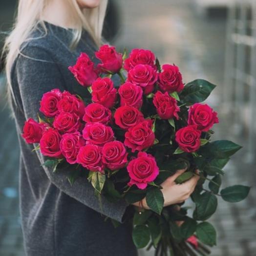 Букет из 21 розы Пинк Флойд