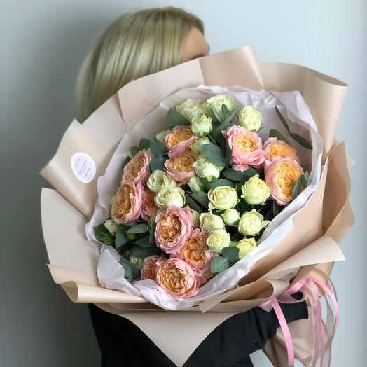 Roses in a package