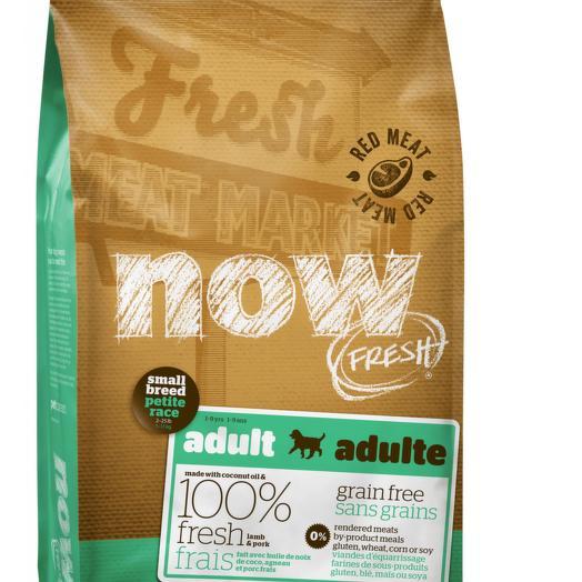 NOW FRESH беззерновой сухой корм для собак мелких пород со свежим ягненком и овощами 5,45 кг