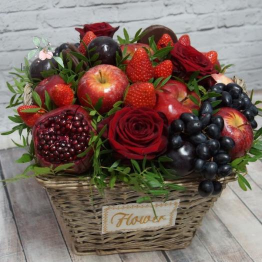 Ягодно-фруктовое лукошко