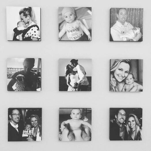 Набор из 9 самоприкрепляющихся картин Photoframe 20х20 см