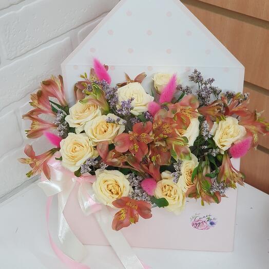 Конверт цветов