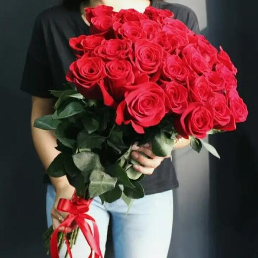 "15 роз ""Фридом"" 70 см"
