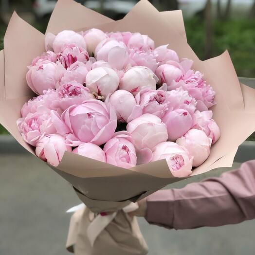 31 розовый пион ' Нежность