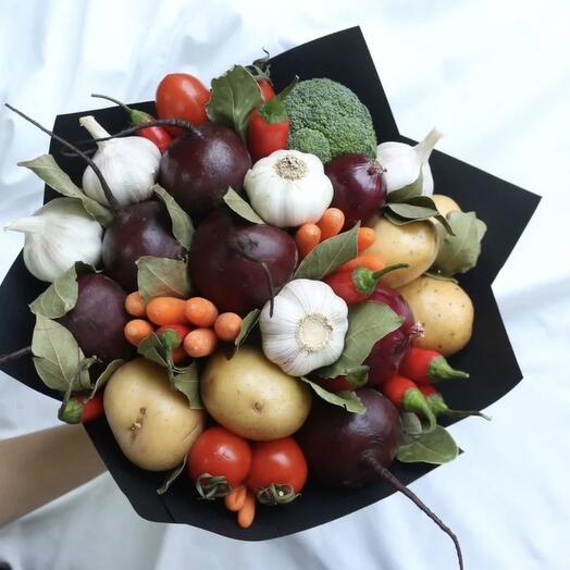 Овощной букет 1
