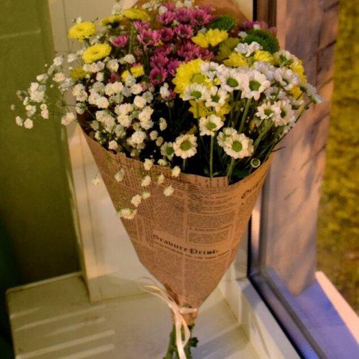 Букет 145: букеты цветов на заказ Flowwow
