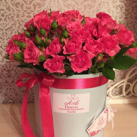 Композиция Розовый бархат: букеты цветов на заказ Flowwow