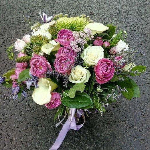 Нежное прикосновение: букеты цветов на заказ Flowwow