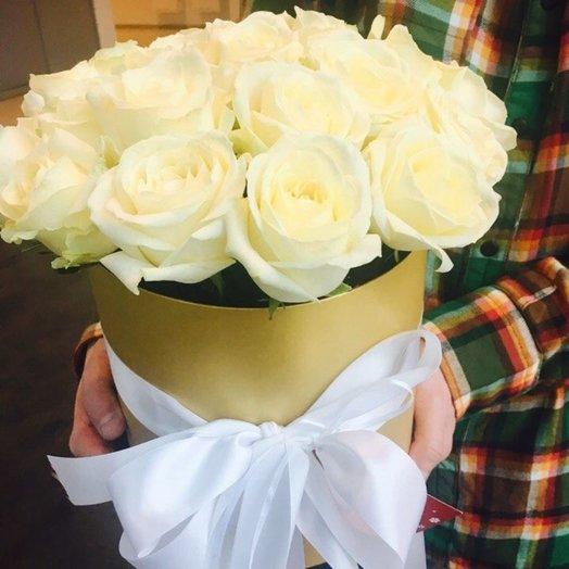 Белое чудо: букеты цветов на заказ Flowwow