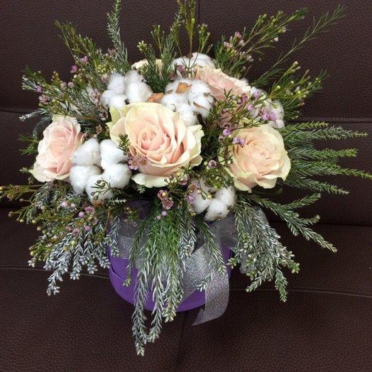 "Коробочка ""Страна чудес"": букеты цветов на заказ Flowwow"