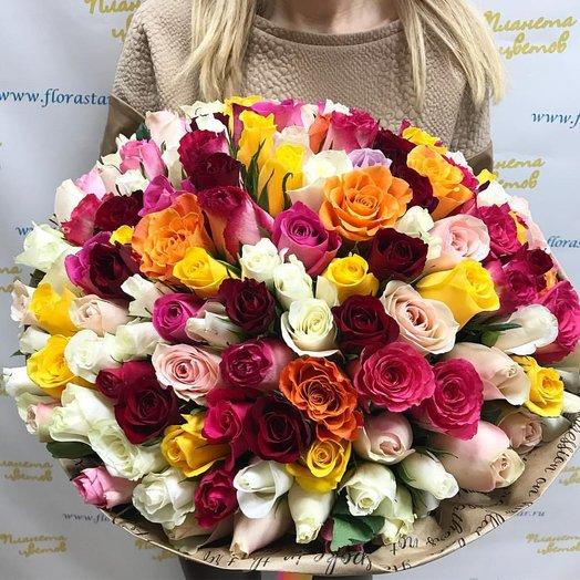 """Букет """"Не нужно слов"""": букеты цветов на заказ Flowwow"""