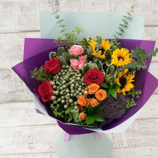 Бенжамин: букеты цветов на заказ Flowwow