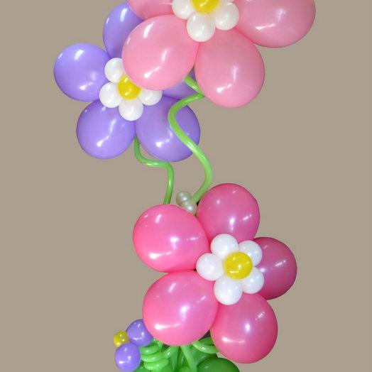 Цветок тройной танцующий Девчачий