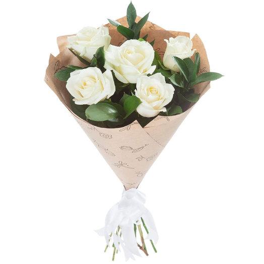 Комплимент 4: букеты цветов на заказ Flowwow