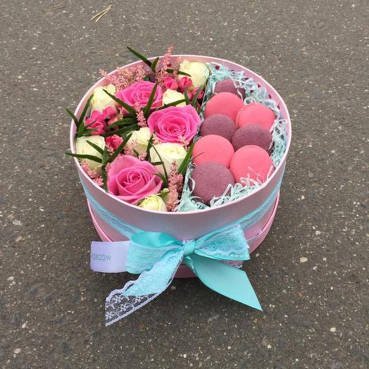 Сладости для радости: букеты цветов на заказ Flowwow