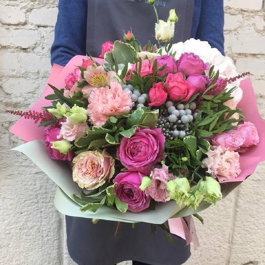 "Букет  ""Розовый трепет"": букеты цветов на заказ Flowwow"